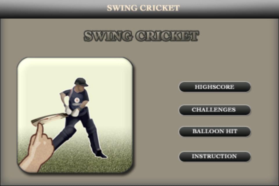 Screenshot Swing Cricket