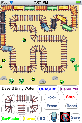 Screenshot Bob's Famous Train